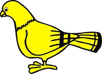 bird clip art(FREE- FREEDBACK CHALLENGE)