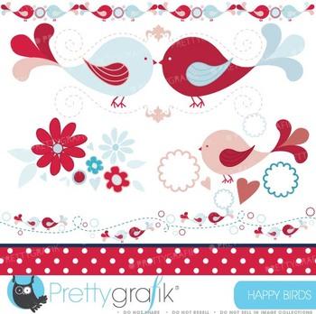 bird tweets clipart commercial use, vector graphics, digital clip art - CL427