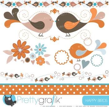 bird tweets clipart commercial use, vector graphics, digital clip art - CL428