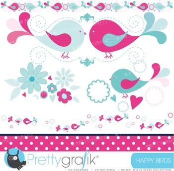 bird tweets clipart commercial use, vector graphics, digital clip art - CL429
