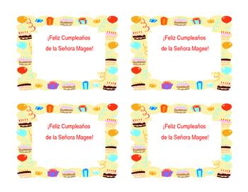 birthday candy bar labels reward
