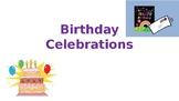 birthday celebrations esl lesson