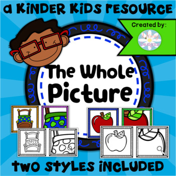 The Whole Picture Matching Game - Kinder Kids
