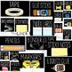 Teacher toolbox labels (Black)