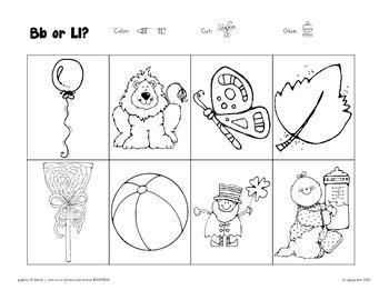 blackline picture sorts: 13 cut-n-paste sets with bonus materials