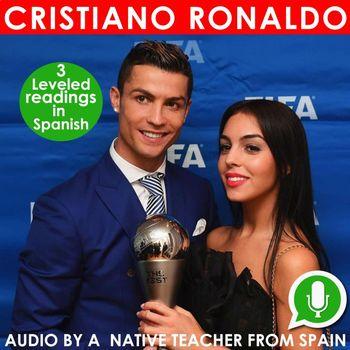 Ronaldo – 3 leveled readings in Spanish + Audio