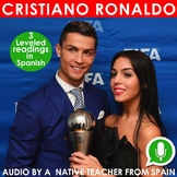 Cristiano Ronaldo – 3 leveled readings in Spanish + Audio