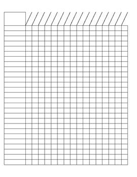 blank checklist grade sheet by sanders shop teachers pay teachers