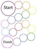 blank circle game board