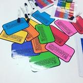 blank iPad - literacy centres - sight words #ausbts18