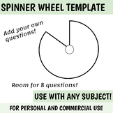 blank spinner template   personal + commercial use