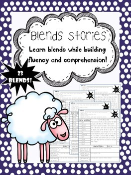 blend and digraph stories