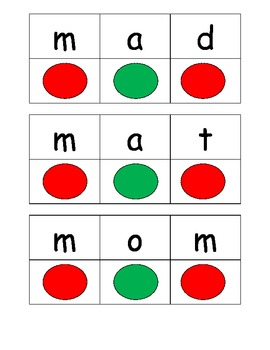 blending and segmenting cards CKLA kindergarten unit 3