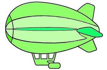blimp clipart