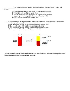 blood test (chapter 10)