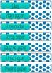 blue polkadot classroom labels