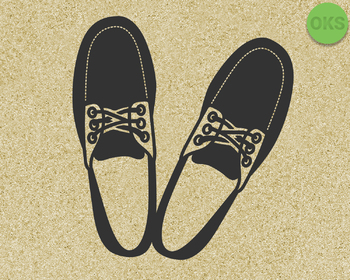 boat shoes, loafers SVG cut files, DXF, vector EPS cutting file instant download