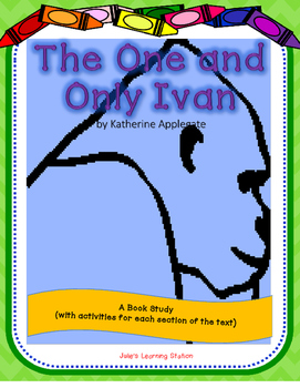 book study, book review, The One and Only Ivan