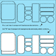 borders headers and frames clipart sellers set, black and