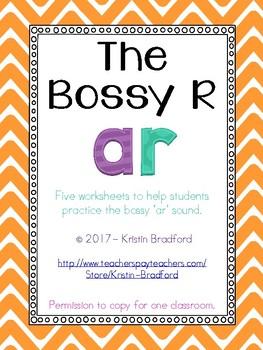 bossy ar worksheets