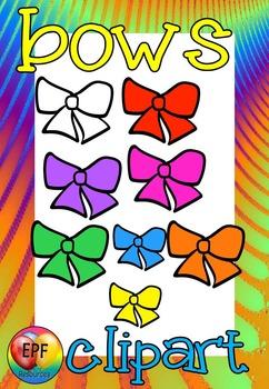 bows  clip art(FREE- FREEDBACK CHALLENGE)