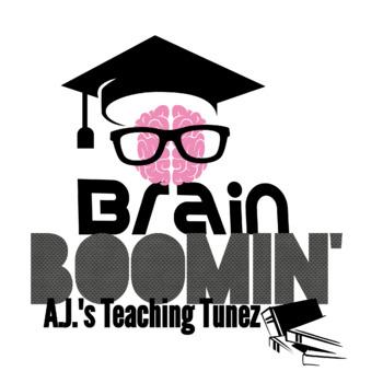 Brain Boomin' - Multiplication - 4's