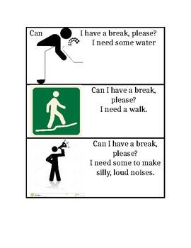 break visuals
