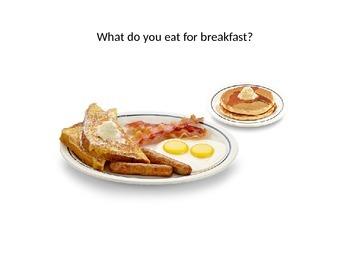 breakfast, lunch, dinner powerpoint