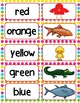 Put Me in the Zoo -  Vocabulary and Color Activities