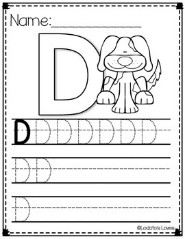 Building our Letter Recognition: All About the Letter D