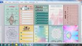 Language planner/ Mood tracker, bullet journal /