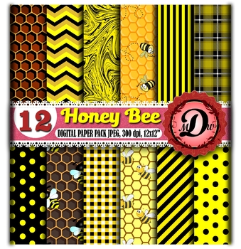 bumblebee digital paper