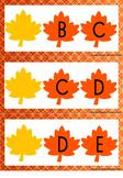 Übung zum Alphabet 2 - Welcher Buchstabe fehlt? {Anfang}