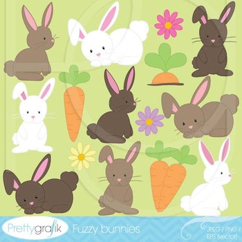 bunny clipart commercial use, vector graphics, digital cli