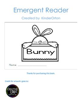 bunny - emergent reader