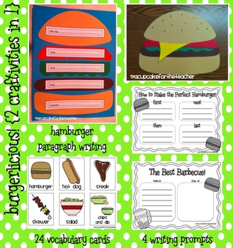 Burgerlicious! {Craftivities}