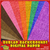 burlap background for product page covers, web, print - co