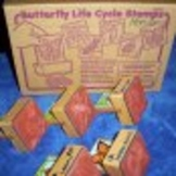 butterfly LIfe Cycle Stamps