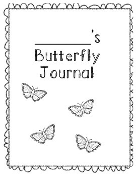 butterfly journal cover