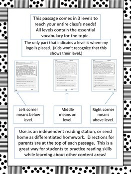 butterfly life cycle fluency and comprehension leveled passages