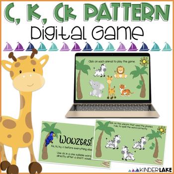 c, k, ck Phonics: Interactive Game