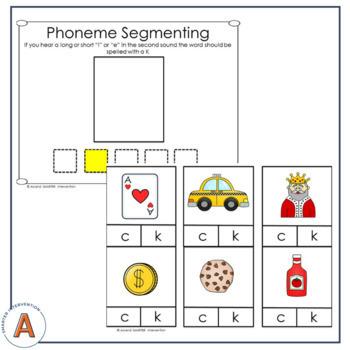 Initial c or k Spelling Rule