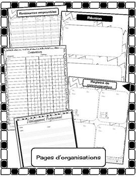 cahier de planification: musique