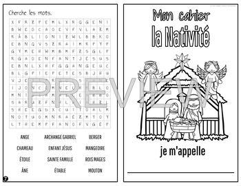 cahier - le Premier Noel / la Nativité