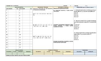 calculo mental y operaciones basicas