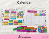 Calendar | Morning Binder | Circle time Binder | Home scho