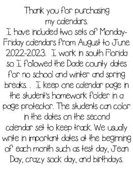 calendar 2017-2018 Dade county