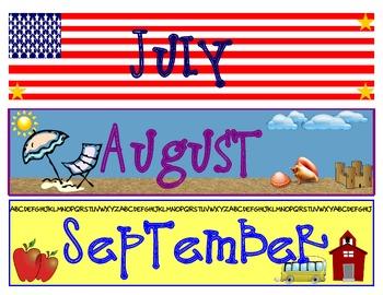 calendar months