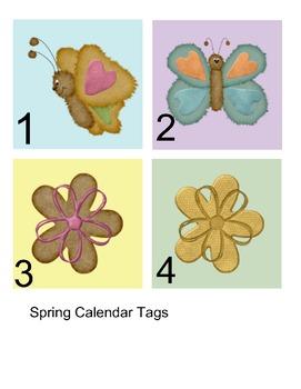 calendar tags-spring