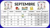 French classroom calendar 2017 2018